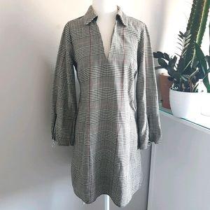Zara 1960s Style Collared Dress